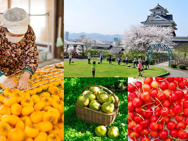 山形県上山市は県内でも有数の観光地