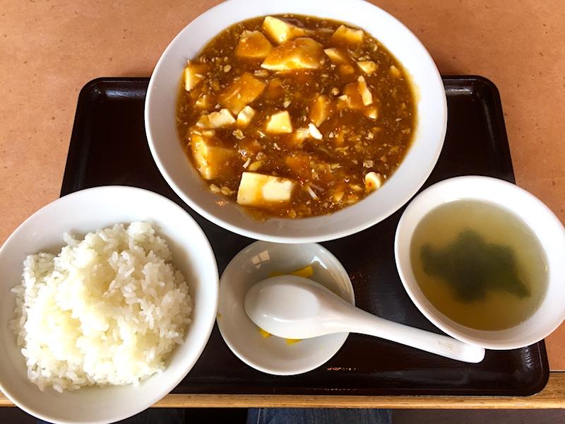 華陽苑の麻婆豆腐