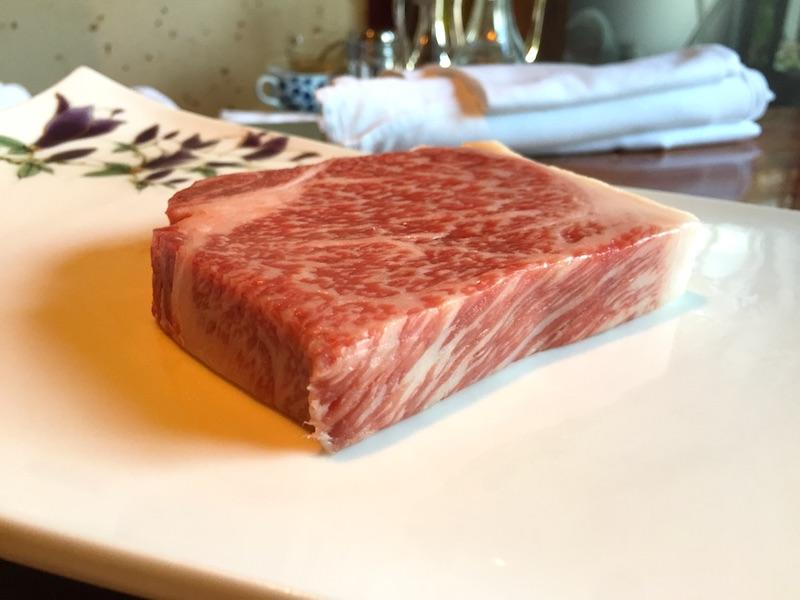 岡山県産の和牛