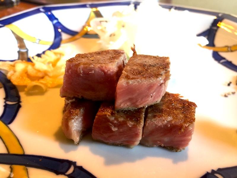 噛めば肉の旨味
