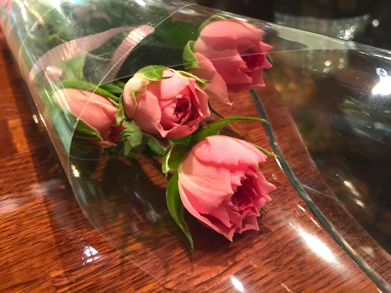 記念日祝いの花