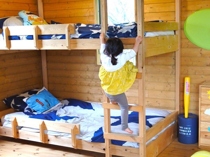 ワンダーボイドの2段ベッド