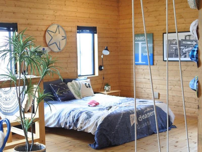 ワンダーボイドの寝室