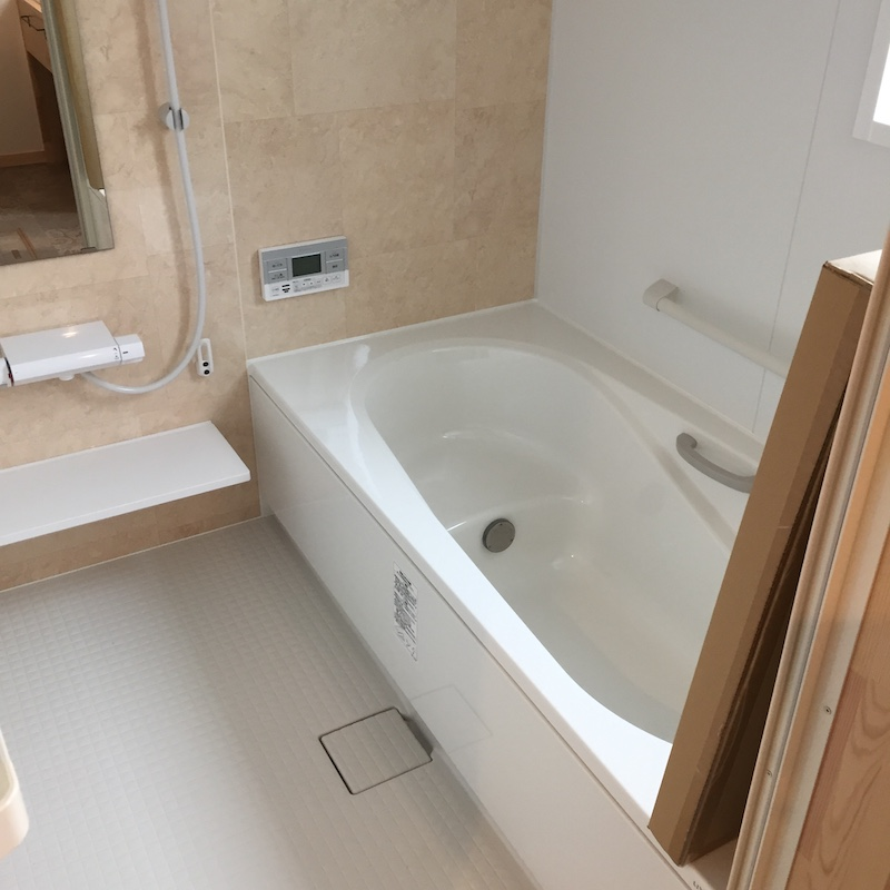 BinOのお風呂