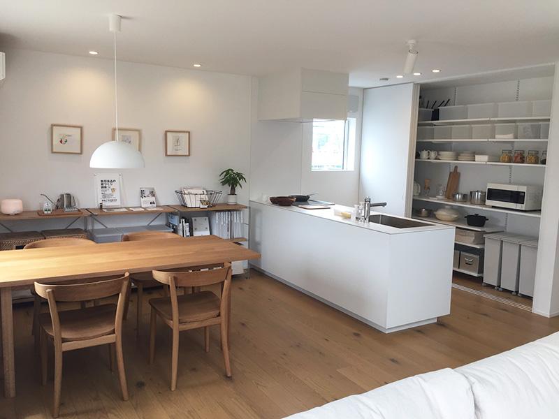 キッチンは広々スペース