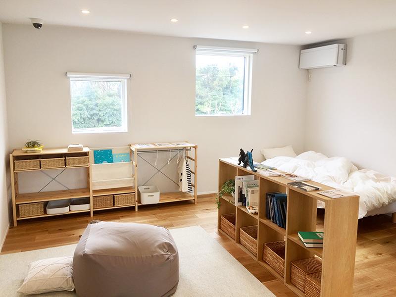 15畳の子供室は余裕の広さ