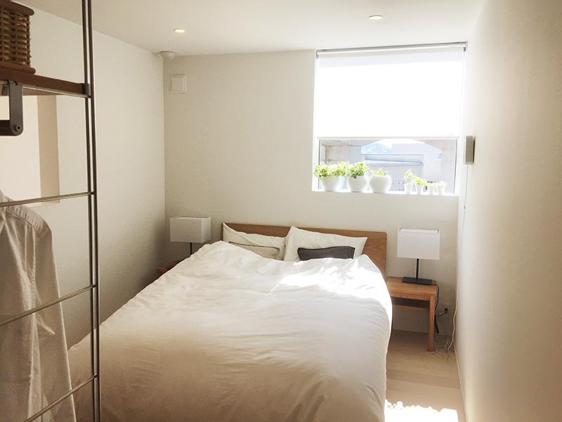 6畳の主寝室