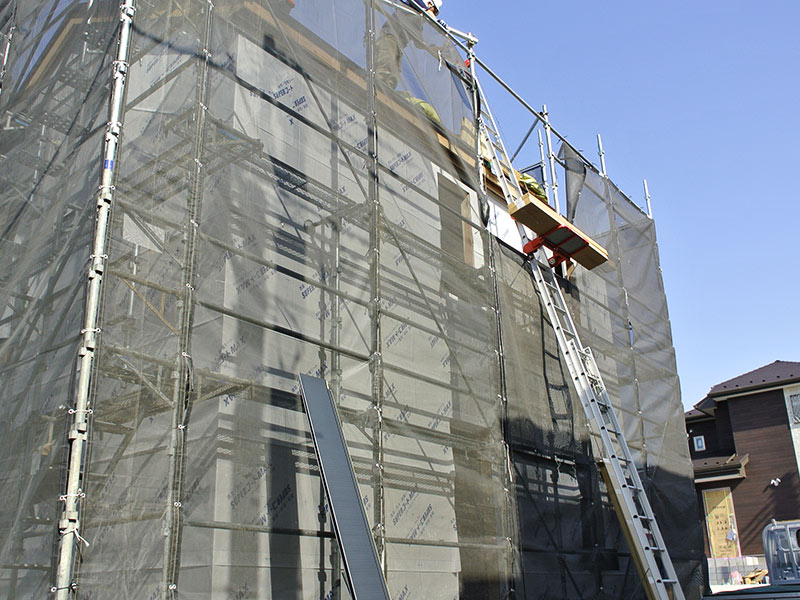 施工が楽なガルバリウム屋根