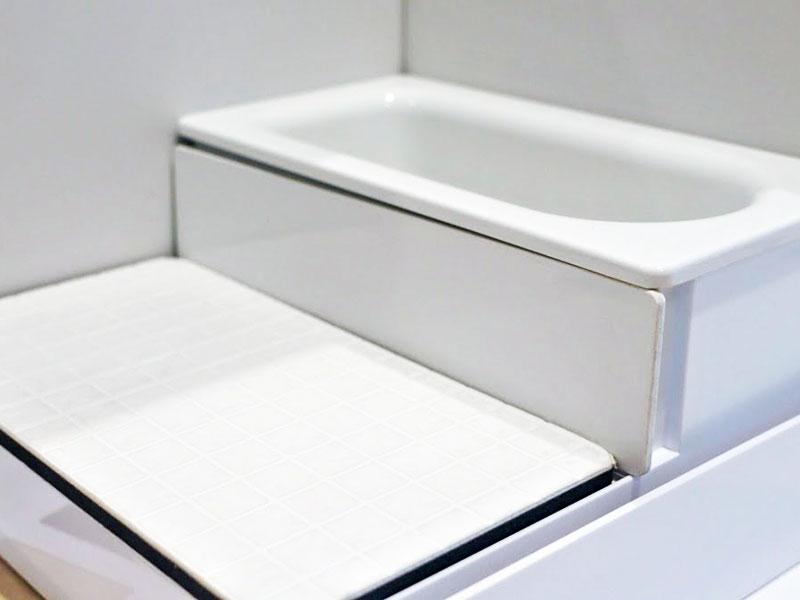 TOTOショールームの浴室模型