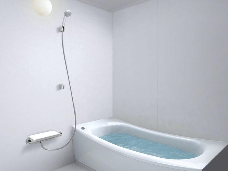 完成したTOTOの浴室プラン