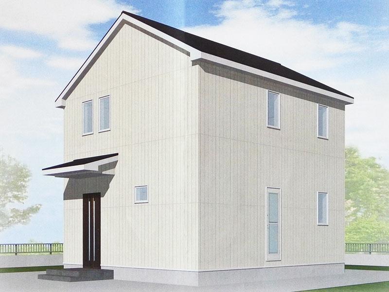 県民共済住宅でALC外壁を選んだ理由とこだわりの縦張り