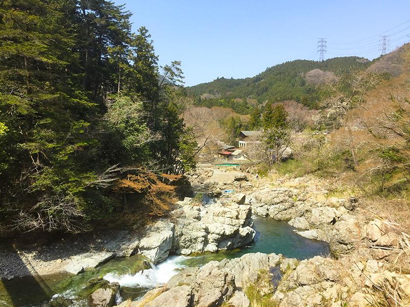秋川渓谷の周辺