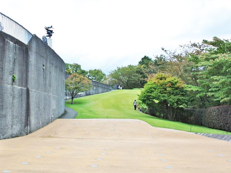 しゃぼん玉のお城の跡地