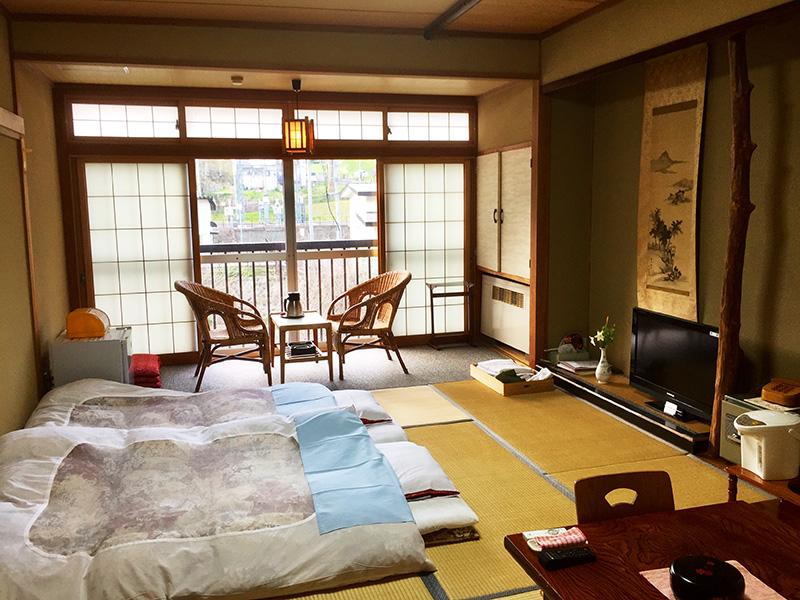 10畳のゆったりした和室