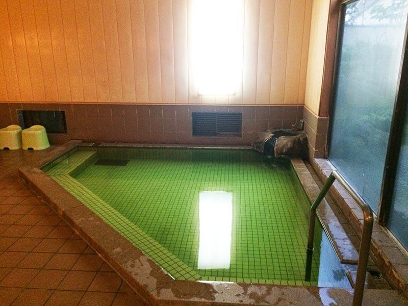 村上館湯伝の大浴場