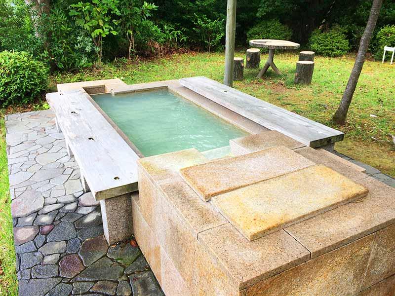 ホテル中の島展望台足湯