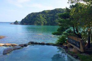 那智勝浦で1、2位を争う温泉宿、中の島ホテルに泊まってきました