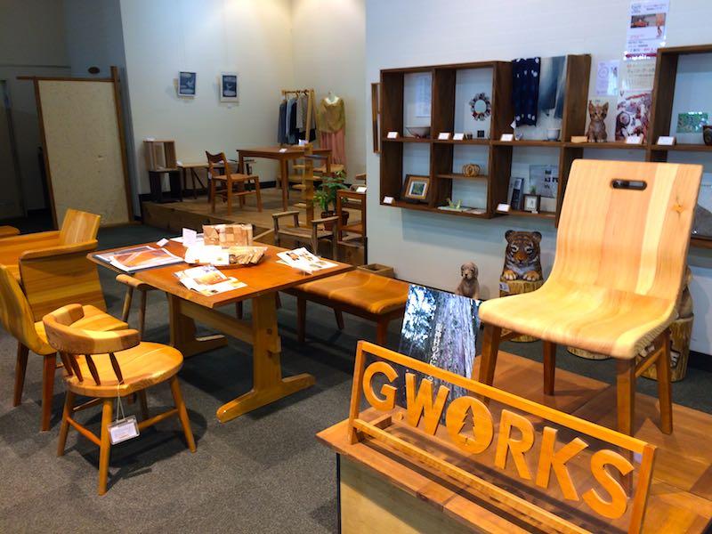 G.WORKSの店内