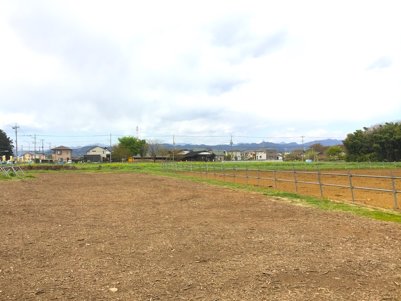 加藤牧場の駐車場