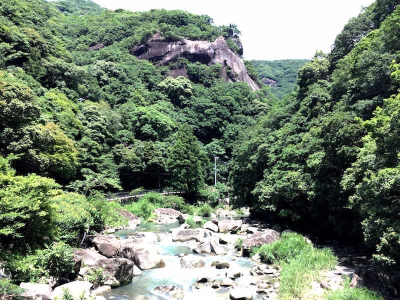 奇絶峡の景色