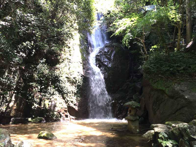 奇絶峡の不動滝
