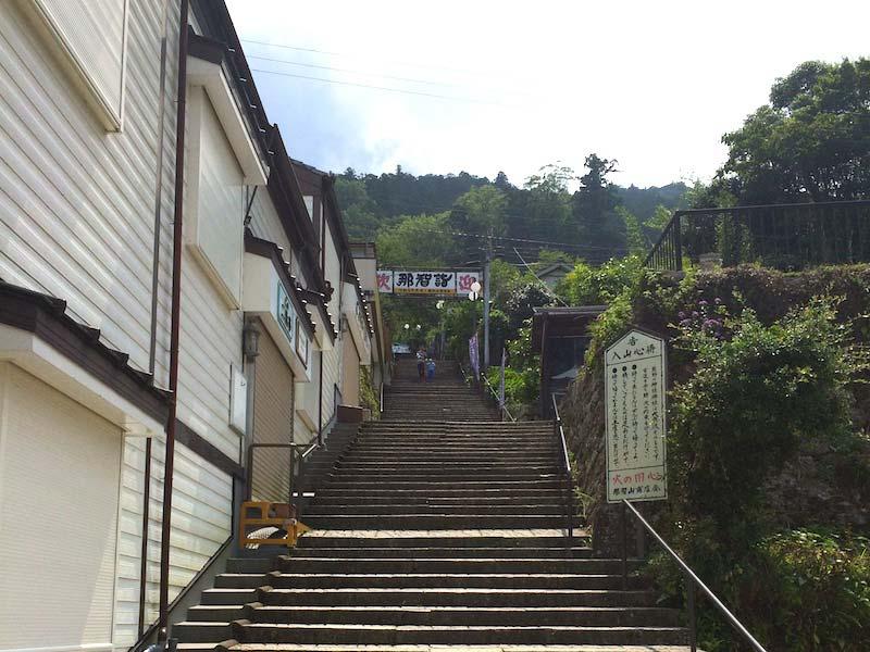 熊野那智大社の入り口