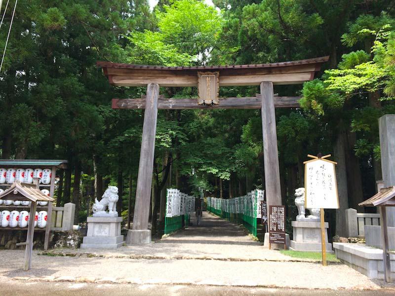 熊野本宮大社の入り口