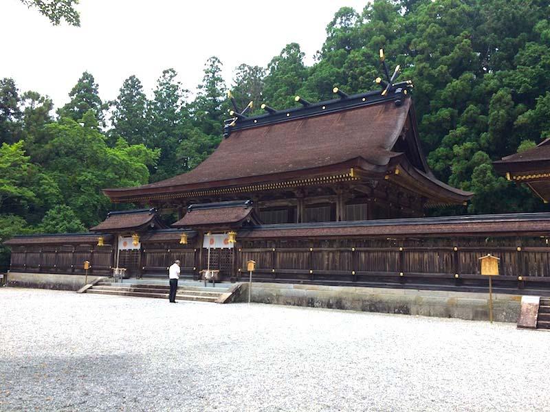 熊野本宮大社の御社殿