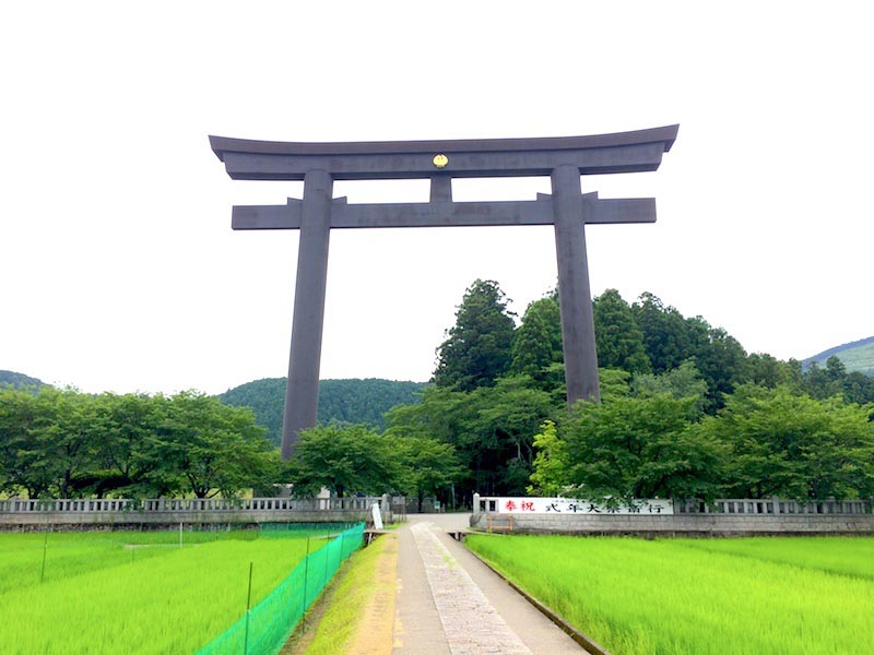 熊野本宮大社の大斎原
